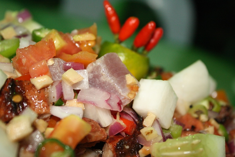 Sinuglaw (Modified Ceviche) in Camotes Island