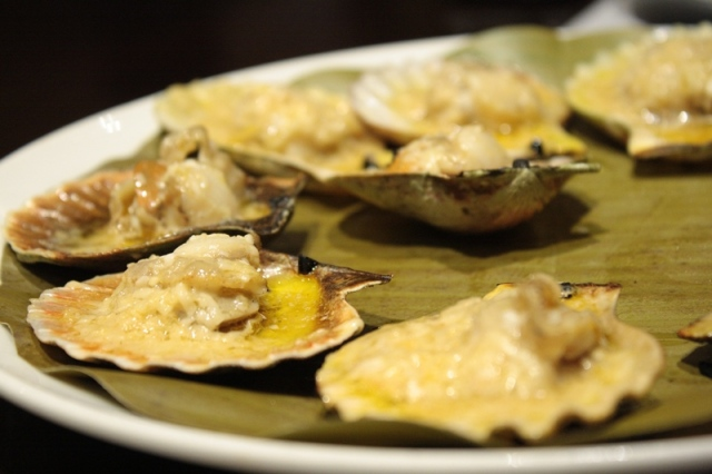 Baked Scallops in Kuya J Restaurant